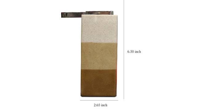 Massimo Soap Dispenser (Brown) by Urban Ladder - Design 1 Dimension - 333934