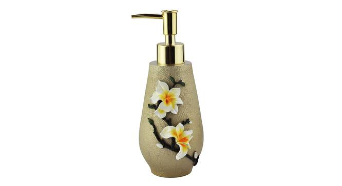 Pim Soap Dispenser (Gold) by Urban Ladder - Front View Design 1 - 333963