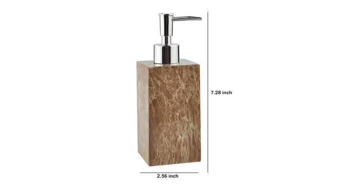 Radek Soap Dispenser (Brown) by Urban Ladder - Design 1 Dimension - 333979