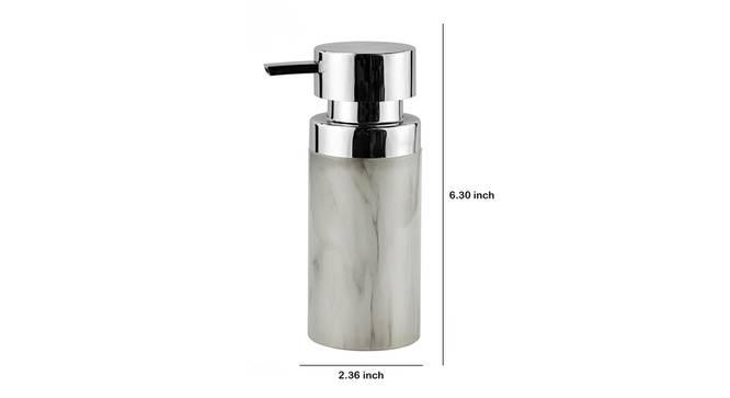 Rasmus Soap Dispenser (White) by Urban Ladder - Design 1 Dimension - 333982