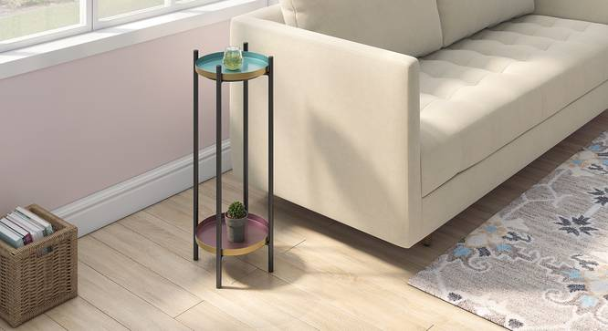 Amarine Side Table (Multi Color) by Urban Ladder - Design 1 Full View - 334789