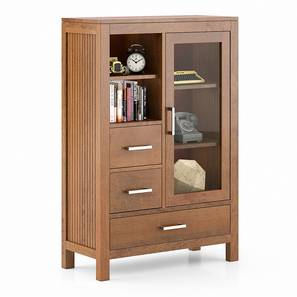 Carnegie Cabinet (Amber Walnut Finish) by Urban Ladder - Design 1 - 334813