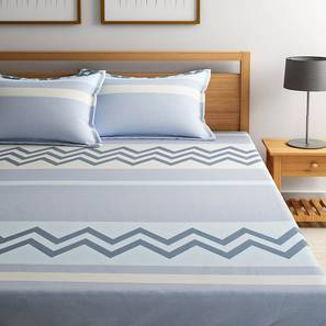 Tara Bedsheet Set (Queen Size) by Urban Ladder - Design 1 Full View - 334880