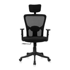 Galen Study Chair (Black, Nylon Chair Base) by Urban Ladder - Pic - 334897