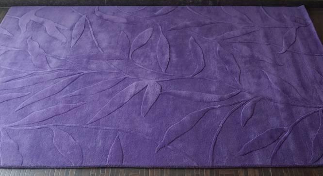 "Fiona Rug (Purple, Rectangle Carpet Shape, 200 x 300 cm  (79"" x 118"") Carpet Size) by Urban Ladder - Front View Design 1 - 335144"