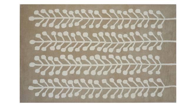 "Harley Rug (Brown, Rectangle Carpet Shape, 200 x 300 cm  (79"" x 118"") Carpet Size) by Urban Ladder - Front View Design 1 - 335159"