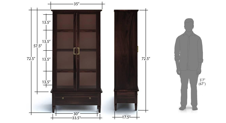 Malabar display cabinet mh 10