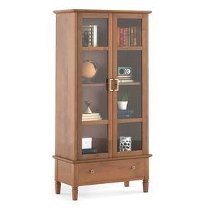 Malabar bookshelf display cabinet lp