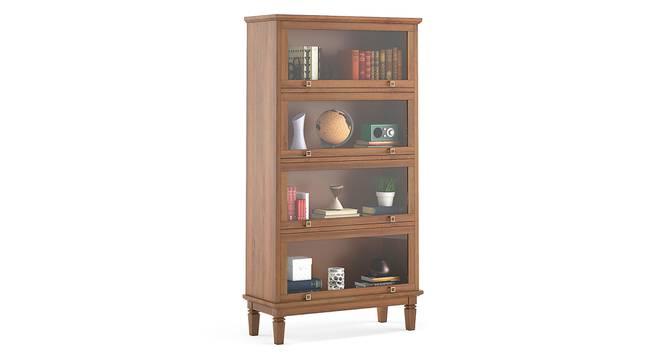 Malabar Barrister Bookshelf (60-Book Capacity) (Amber Walnut Finish) by Urban Ladder - Details - 335342