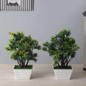 Petal artificial plant white lp