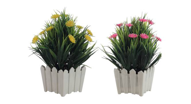 Marcella Artificial Plant by Urban Ladder - Cross View Design 1 - 335819