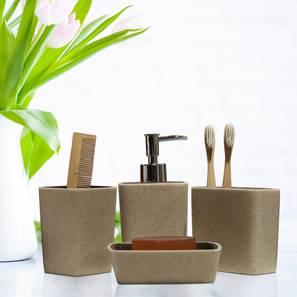 Angelo bath accessories set cream lp