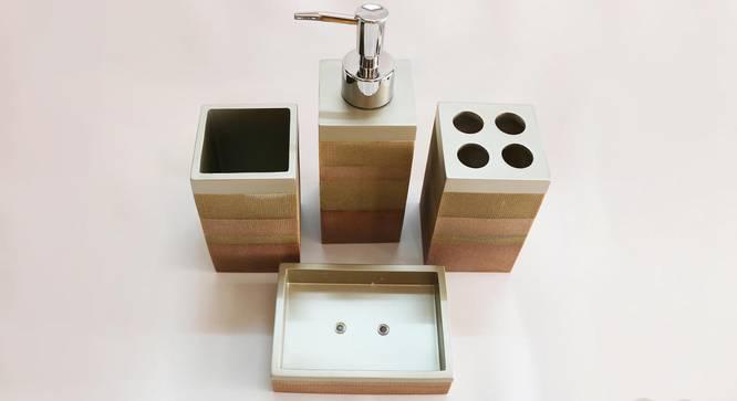 Arvid Bath Accessories Set by Urban Ladder - Design 1 Top View - 335929