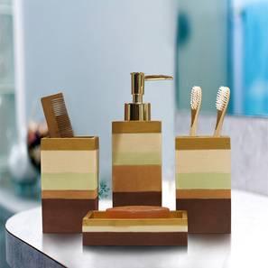 Bertalan Bath Accessories Set by Urban Ladder - Front View Design 1 - 335957