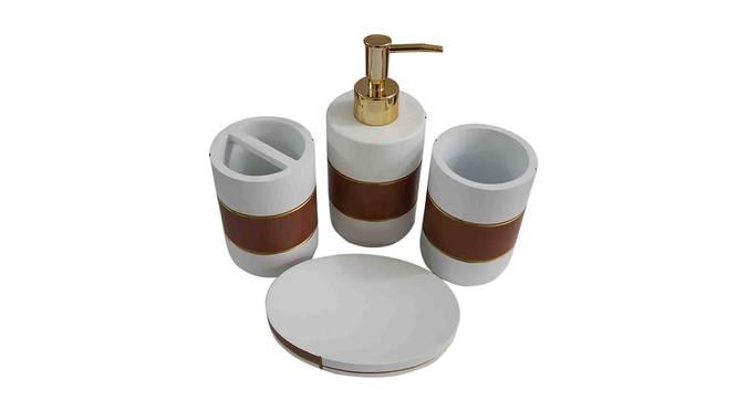 Ferran Bath Accessories Set by Urban Ladder - Design 1 Top View - 336062