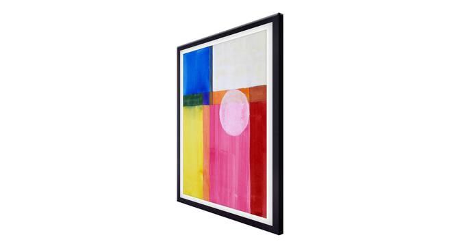 Derma Wall Art (Pink) by Urban Ladder - Cross View Design 1 - 336136