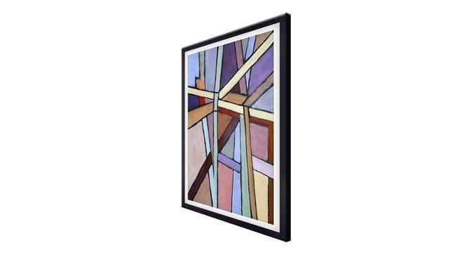 Lilac Wall Art by Urban Ladder - Cross View Design 1 - 336187