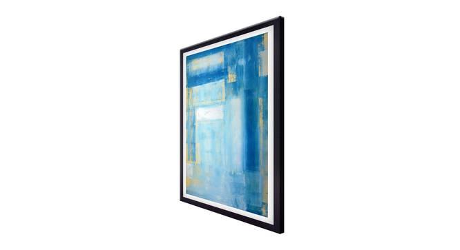 Maise Wall Art (Sky Blue) by Urban Ladder - Cross View Design 1 - 336188