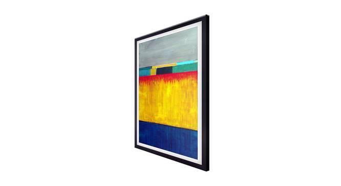 Selda Wall Art (Yellow) by Urban Ladder - Cross View Design 1 - 336236