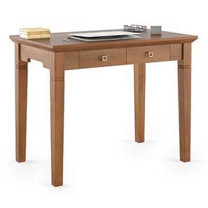 Malabar Compact Study Table (Amber Walnut Finish) by Urban Ladder - Cross View Design 1 - 336302