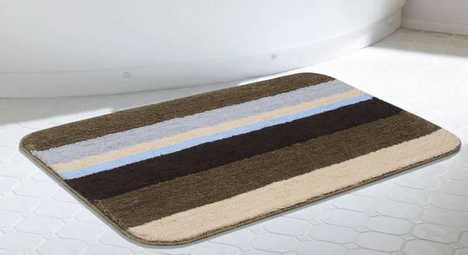 Alanna Bath Mat (Grey) by Urban Ladder - Design 1 Half View - 336381