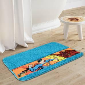 Amiya bath mat  light blue235 free lp