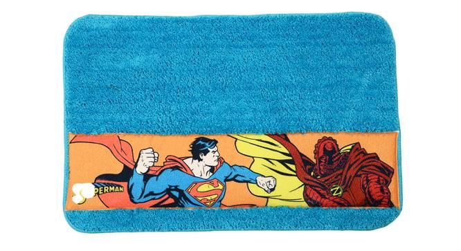 Amiya Bath Mat (Light Blue) by Urban Ladder - Front View Design 1 - 336426