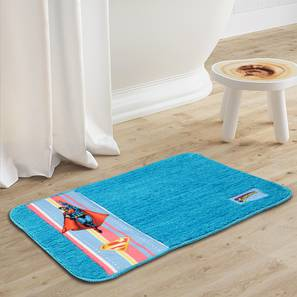 Brittany bath mat  light blue231 free lp