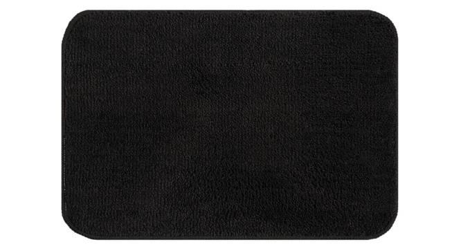 Cadence Bath Mat Set of 2 (Black) by Urban Ladder - Front View Design 1 - 336584
