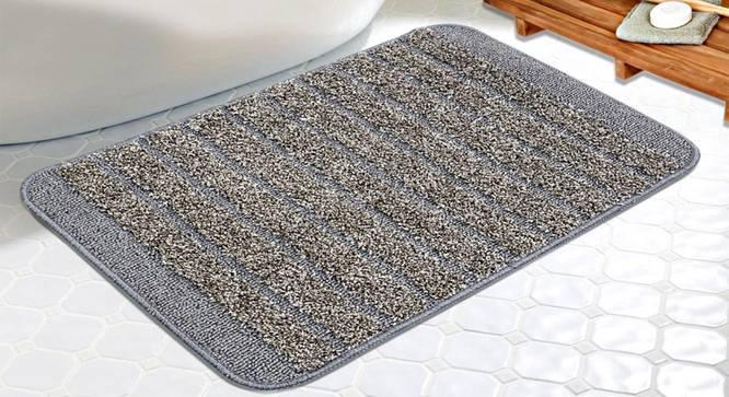 Danna Bath Mat (Grey) by Urban Ladder - Design 1 Half View - 336666