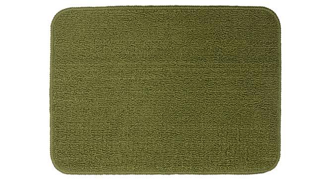 Celine Bath Mat (Green) by Urban Ladder - Front View Design 1 - 336684