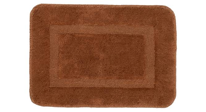 Holly Bath Mat Set of 2 (Brown) by Urban Ladder - Front View Design 1 - 336830