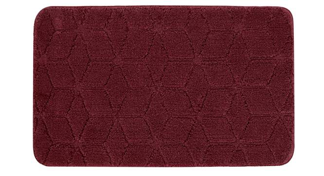 Justice Bath Mat Set of 2 (Maroon) by Urban Ladder - Front View Design 1 - 336946