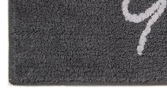 Kaitlyn Bath Mat (Grey) by Urban Ladder - Design 1 Close View - 336947