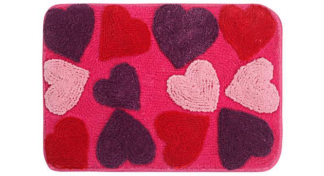 Kataleya Bath Mat (Pink) by Urban Ladder - Front View Design 1 - 336982
