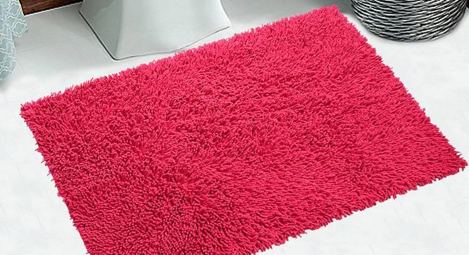 Katelyn Bath Mat (Pink) by Urban Ladder - Design 1 Half View - 337015