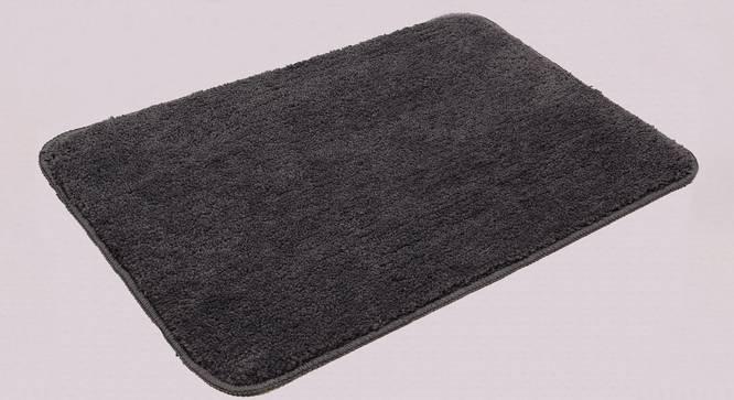 Kendra Bath Mat Set of 2 (Grey) by Urban Ladder - Design 1 Half View - 337060