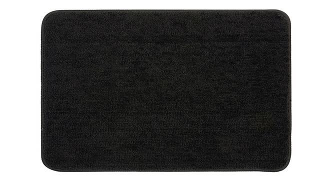 Kendra Bath Mat Set of 2 (Black) by Urban Ladder - Front View Design 1 - 337085