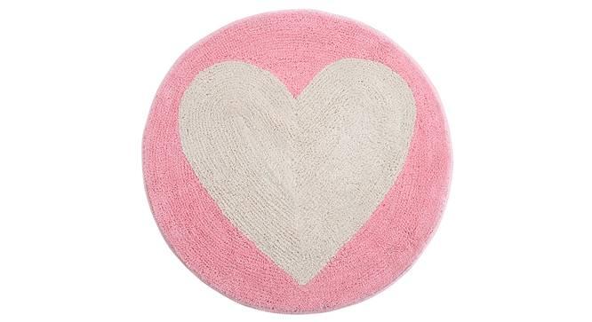 Kenia Bath Mat (Pink) by Urban Ladder - Front View Design 1 - 337116