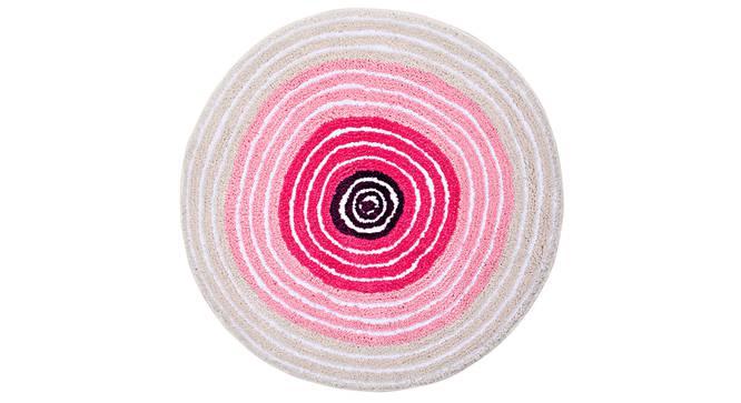 Lexie Bath Mat (Pink) by Urban Ladder - Front View Design 1 - 337118
