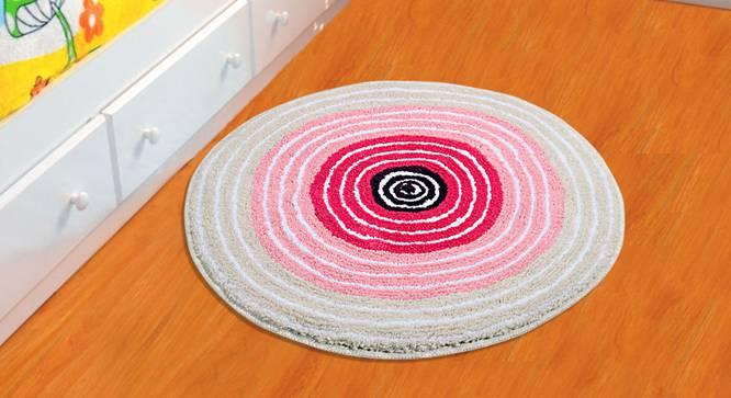 Lexie Bath Mat (Pink) by Urban Ladder - Design 1 Half View - 337161