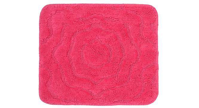 Liana Bath Mat Set of 2 (Pink) by Urban Ladder - Front View Design 1 - 337166