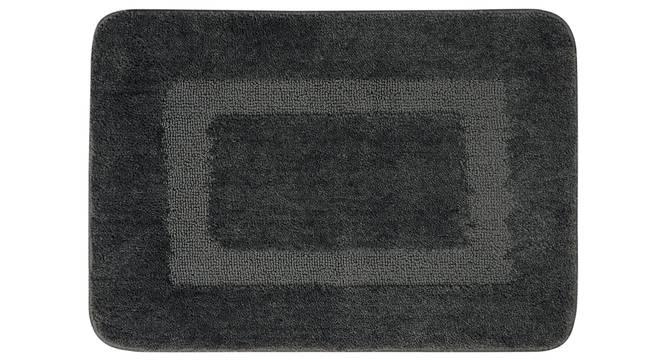 Maia Bath Mat (Grey) by Urban Ladder - Front View Design 1 - 337234