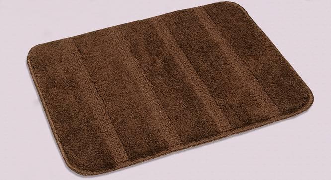 Nayeli Bath Mat Set of 2 (Brown) by Urban Ladder - Design 1 Half View - 337309