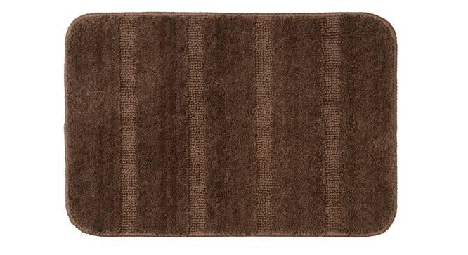 Nayeli Bath Mat Set of 2 (Brown) by Urban Ladder - Front View Design 1 - 337325