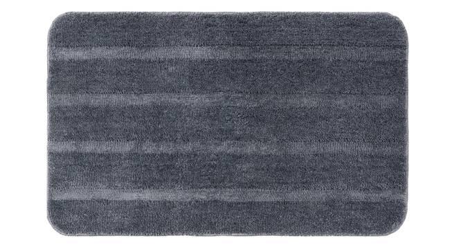 Nayeli Bath Mat Set of 2 (Grey) by Urban Ladder - Front View Design 1 - 337326