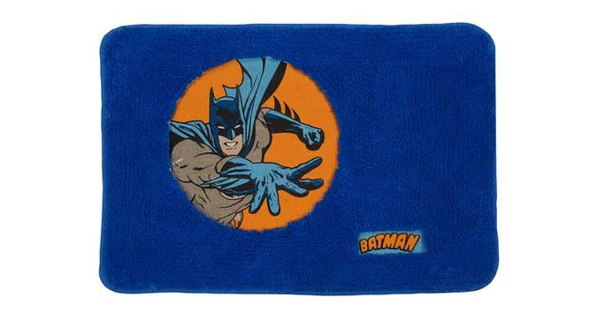 Mylah Bath Mat (Blue) by Urban Ladder - Front View Design 1 - 337333