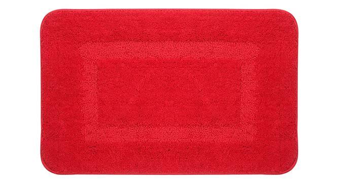 Regina Bath Mat Set of 2 (Red) by Urban Ladder - Front View Design 1 - 337348