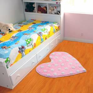 Rylan bath mat  pink259 free lp
