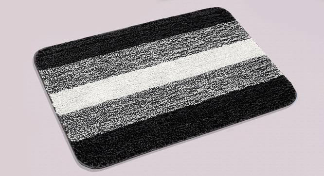 Sutton Bath Mat Set of 2 (Black) by Urban Ladder - Design 1 Half View - 337478